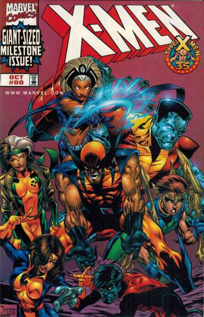 X-Men #80 Dynamic Forces Exclusive Variant Sealed with COA
