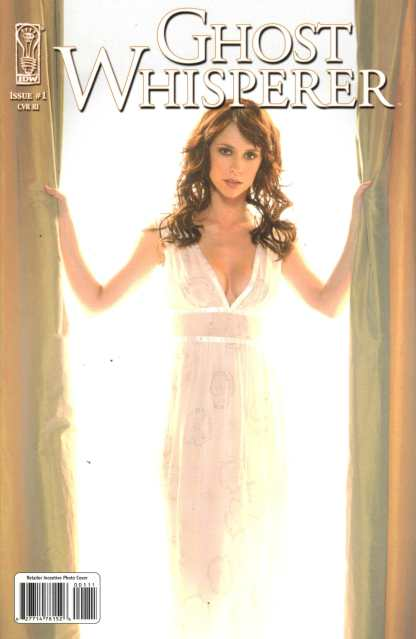 Ghost Whisperer #1 Retailer Incentive Photo Variant IDW