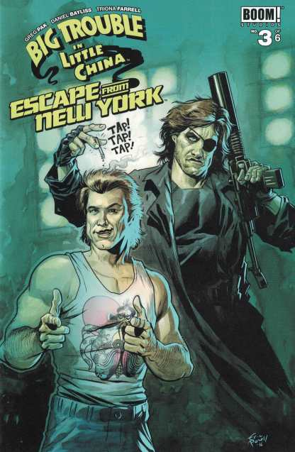 Big Trouble in Little China Escape From New York #3 Eric Powell Variant Cover B