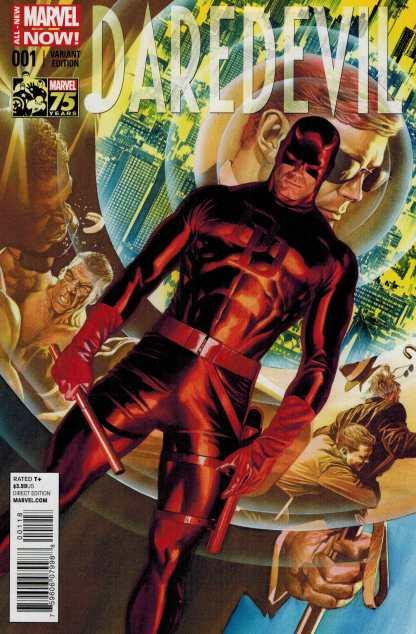 Daredevil #1 1:75 Alex Ross 75th Anniversary Color Variant