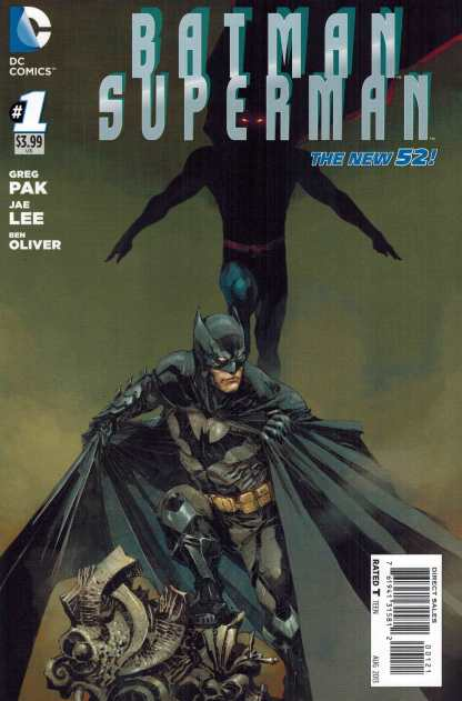 Batman Superman #1 1:25 Kenneth Rocafort Variant DC New 52
