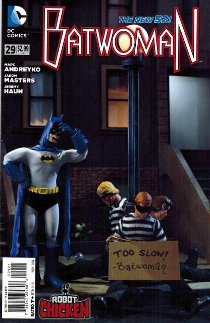 Batwoman #29 1:25 Robot Chicken Variant DC New 52 HTF