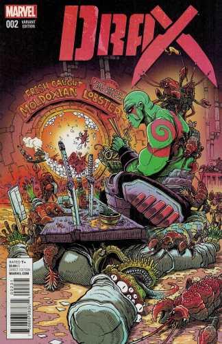 Drax #2 1:25 James Stokoe Variant Marvel ANAD 2015