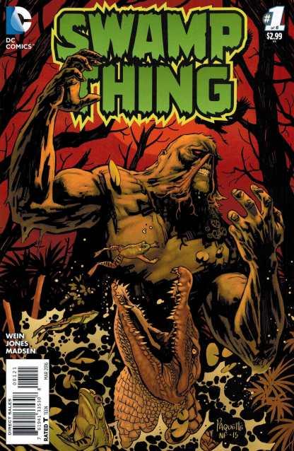 Swamp Thing #1 1:25 Yannick Paquette Variant DC 2016 Wein Jones