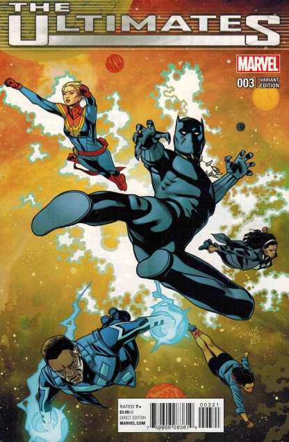 Ultimates #3 1:25 Chris Sprouse Variant Marvel ANAD 2015