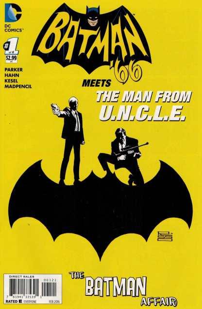 Batman 66 Meets the Man From Uncle #1 1:25 Risso Variant DC Comics 2016