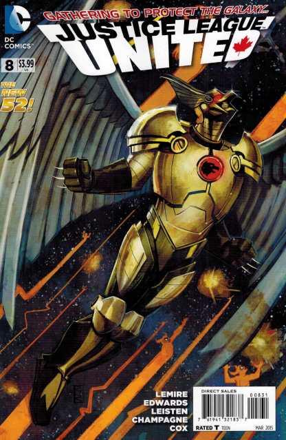 Justice League United #8 1:25 Rod Reis Variant