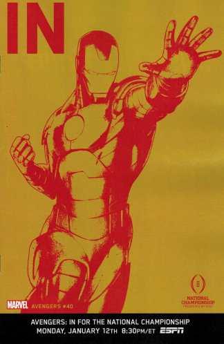 Avengers #40 1:10 ESPN IN Variant NOW Iron Man