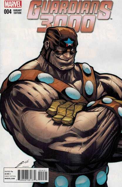 Guardians 3000 #4 1:25 Sandoval Variant