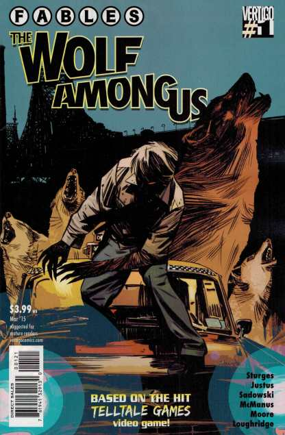 Fables the Wolf Among Us #1 1:13 Tommy Lee Edwards Variant