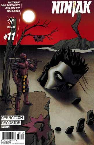 Ninjak #11 1:20 Dave Johnson Variant Valiant 2015