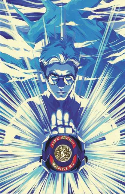Mighty Morphin Power Rangers #10 1:25 Montes Blue Ranger Variant Boom 2016