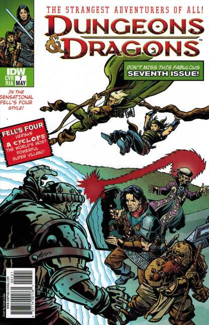 Dungeons and Dragons #7 1:10 Jorge Lucas X-Men Homage Variant IDW