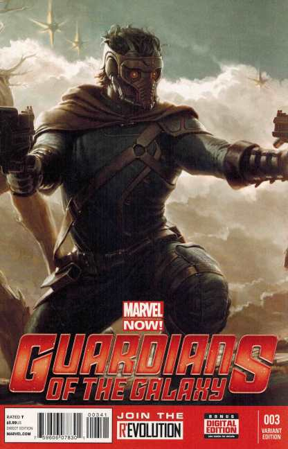Guardians of the Galaxy #3 1:25 Movie Variant NOW