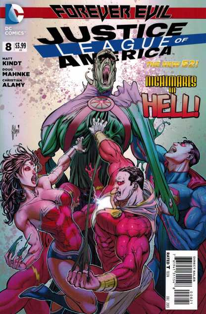 Justice League of America #8 1:25 March Variant DC New 52