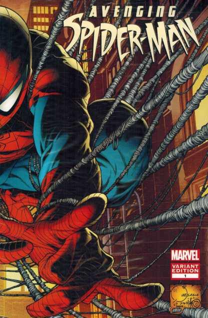 Avenging Spider-Man #1 1:50 Joe Quesada Color Wrap Variant New Sealed!