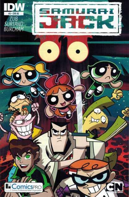 Samurai Jack #5 Comicspro Variant RE IDW