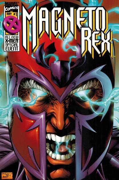 Magneto Rex #1 Dynamic Forces Variant w/ COA