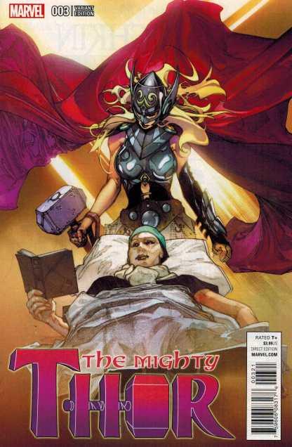 Mighty Thor #3 1:25 Simone Bianchi Variant Marvel ANAD 2015