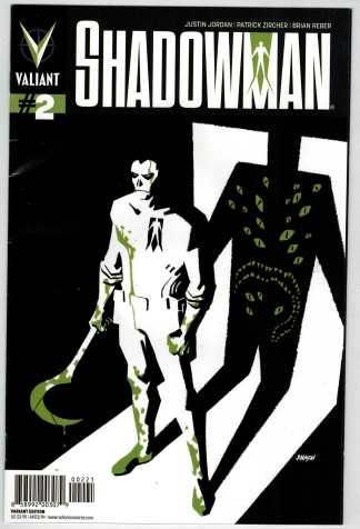 Shadowman #2 1:25 Dave Johnson Variant Valiant VF/FN Fine Very Fine
