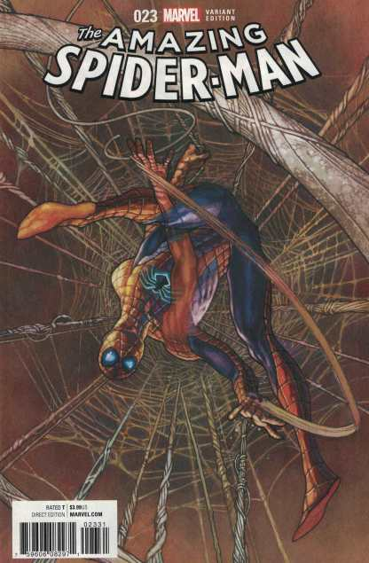 Amazing Spider-Man #23 1:25 Simone Bianchi Variant ANAD Marvel 2015 CC