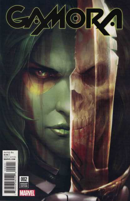 Gamora #2 1:25 Mattina Variant NOW Marvel 2016 Guardians Grounded HTF RARE