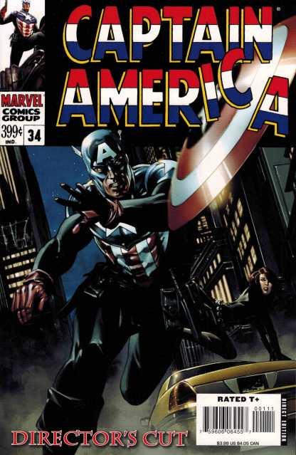 Captain America #34 Director's Cut Steve Epting Variant Marvel 2004