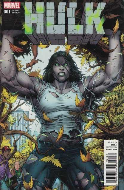 Hulk #1 1:50 Dale Keown Variant NOW Marvel 2016 Gray She Hulk
