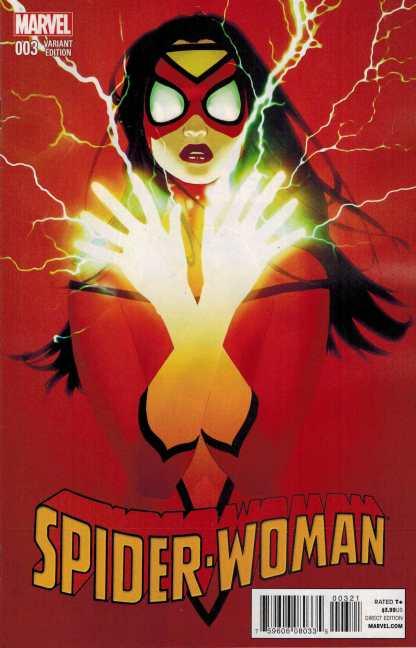 Spider-Woman #3 1:25 Forbes Variant 2014 Spider-Verse