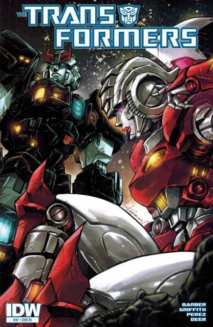 Transformers #37 1:10 Retailer Incentive Variant RI IDW Ongoing