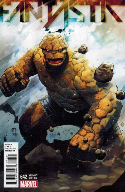 Fantastic Four #642 1:15 Character Spotlight Thing Variant