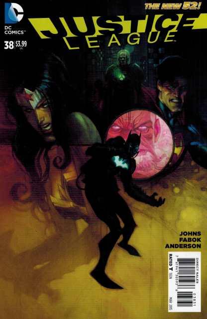 Justice League #38 1:25 Manapul Variant New 52!