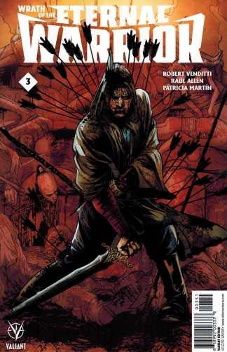 Wrath of the Eternal Warrior #3 1:20 Pollina Variant Valiant 2015