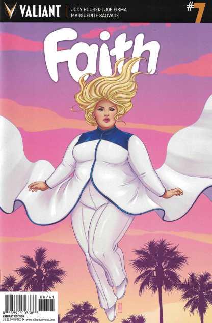 Faith Ongoing #7 1:10 Jen Bartel Variant Cover D Valiant 2016