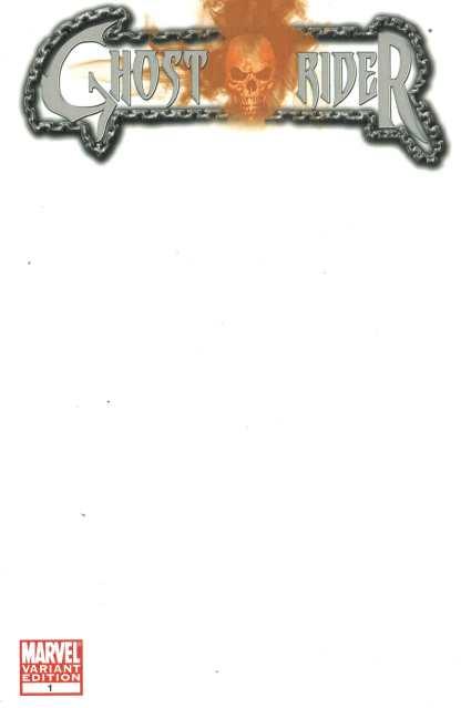 Ghost Rider #1 Blank Sketch Variant 1st All New Alejandra Jones Marvel 2011