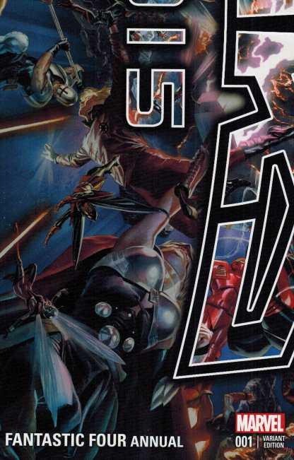 Fantastic Four Annual #1 Alex Ross Secret Wars 2015 NYCC Variant