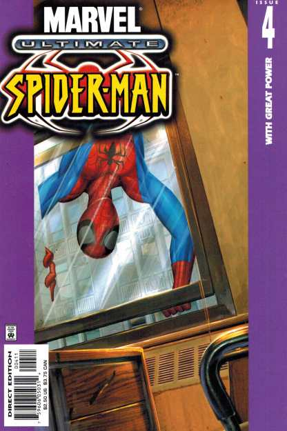 Ultimate Spider-Man #4 Bendis 2000 With Great Power