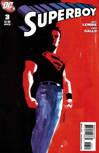 Superboy #3 1:10 Dustin Nguyen Variant DC Comics 2010 Lemire