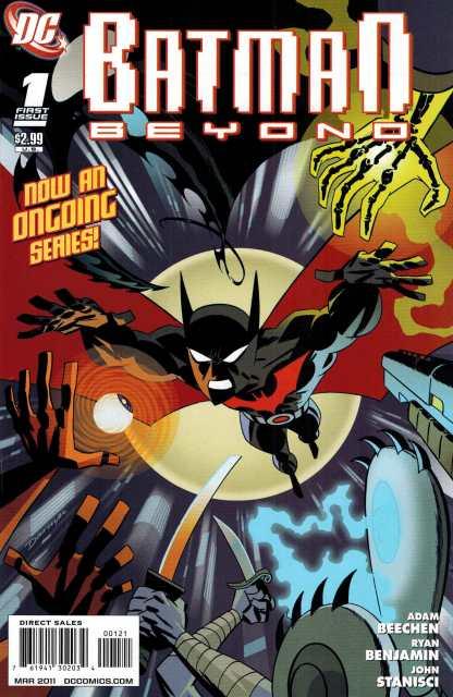 Batman Beyond #1 1:10 Darwyn Cooke Variant DC 2011 HTF Rare!!