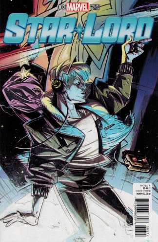 Star Lord #3 1:25 Chris Visions Variant Marvel ANAD 2015 Guardians