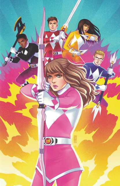 Power Rangers Pink #6 1:50 Jen Bartel Variant Boom Studios 2016 Mighty Morphin