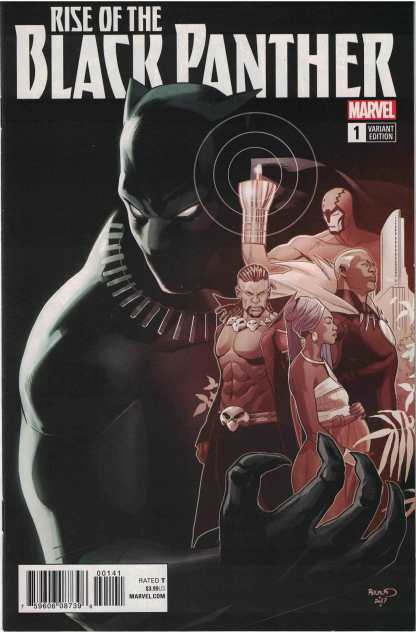 Rise of the Black Panther #1 1:50 Paul Renaud Variant Marvel Legacy 2017