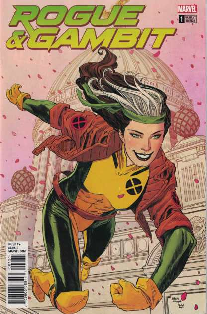 Rogue and Gambit #1 1:50 Bilquis Evely Variant Marvel Legacy 2017