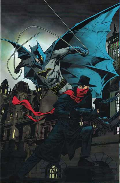 The Shadow Batman #4 1:20 Kevin Nowlan Virgin Variant Dynamite 2017