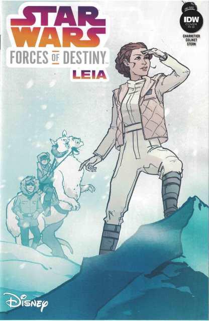Star Wars Forces of Destiny Leia #1 1:20 Annie Wu Variant RI-B IDW 2017