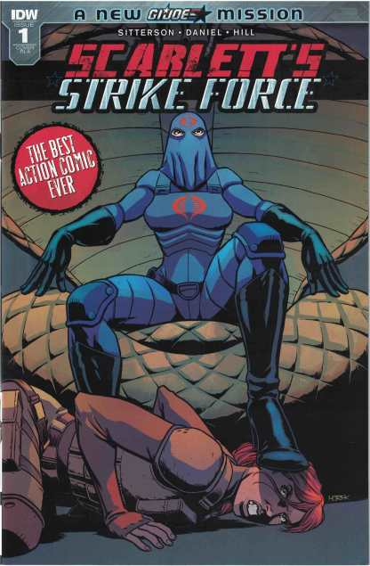 Scarlett's Strike Force #1 1:10 Retailer Incentive Variant A IDW 2017