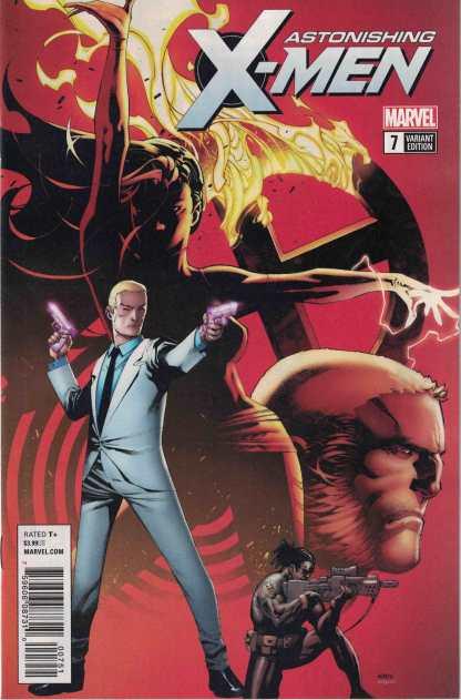 Astonishing X-Men #7 1:25 Chris Stevens Variant Marvel Legacy 2017