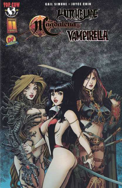 Witchblade Vampirella Magdalena Convergence #1 Dynamic Forces Gold Foil Variant