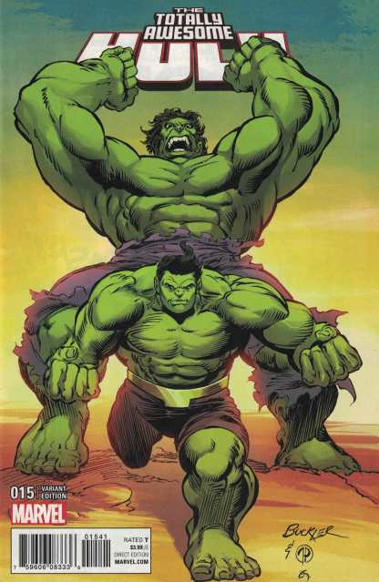 Totally Awesome Hulk #15 1:25 Buckler Classic Variant ANAD Marvel 2015