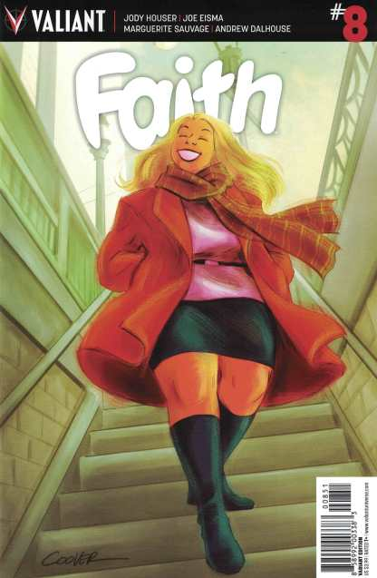 Faith Ongoing #8 1:20 Colleen Coover Variant Cover E Valiant 2016